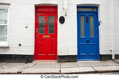 doors., deux