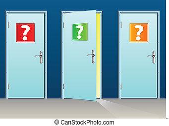 Doors - Success door open and failure close