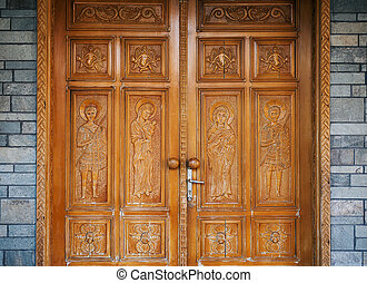 Doors of Orthodox Church