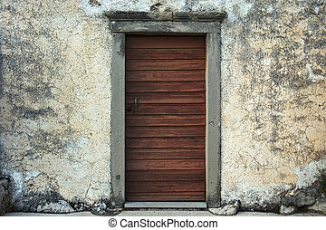 Doors of the old church.