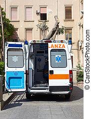 Doors Open on Ambulance