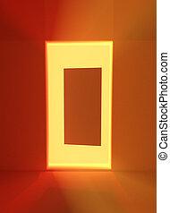 Doorway Light Abstract