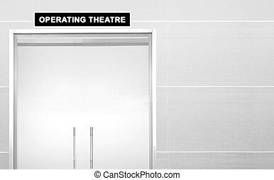Doorway of Operating theater