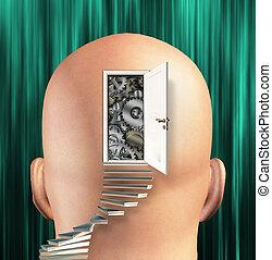 Doorway opens to gears in mind