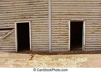Doorways - 2 old doorways