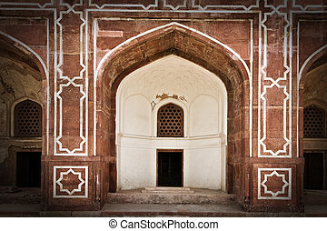 doorways - old doorways in indian palace