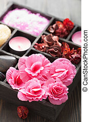 doosje, aromatherapy, set, black , spa