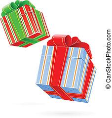 doosje, geschenk buiging