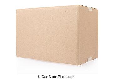 doosje, karton, cassette, gesloten