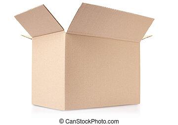 doosje, karton, open