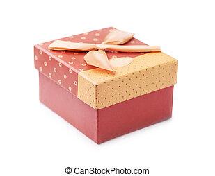 doosje, met de hand gemaakt, cadeau