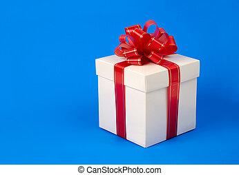 doosje, zich verbeelden, cadeau