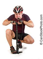 doping, άντραs , με , αεραντλία