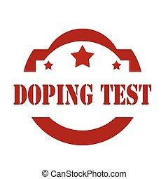 Doping Test-stamp