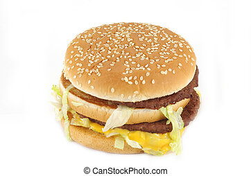 doppelgänger, cheeseburger
