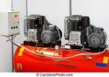doppelgänger, lüften kompressor