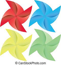 doré, étoile, illustration, 3d