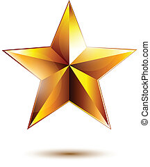doré, étoile