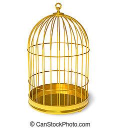 doré, cage