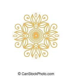 doré, certificat, watermark, couleurs, conception, cachet