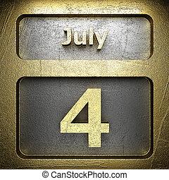 doré, juillet, 4, signe
