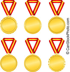 doré, médailles
