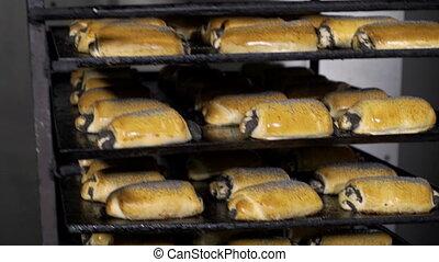 doré, pain, nourriture juste, pain, usine, products.,...