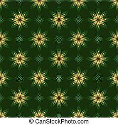 doré, vert, sombre, texture, éléments, vecteur