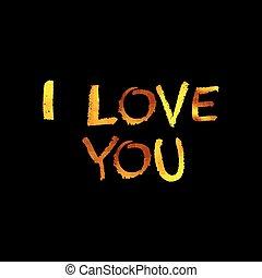 doré, vous, amour, inscription