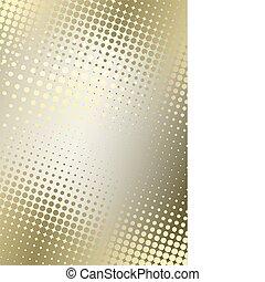 dorado, cartel, plano de fondo