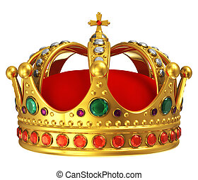 dorado, corona real