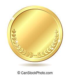 dorado, moneda