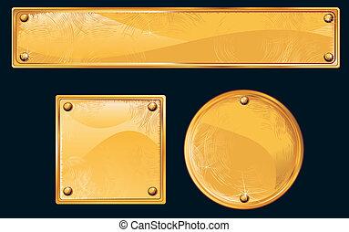 dorado, placas