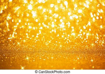 dorado, Plano de fondo, luces