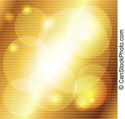 dorado, rayado, decorativo, backgroun