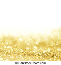 dorado, resplandor, plano de fondo