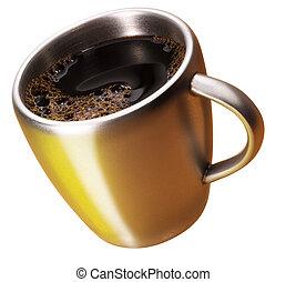 dorado, taza para café