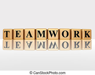dorado, trabajo en equipo, reflexión