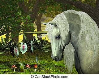 dorado, unicornio