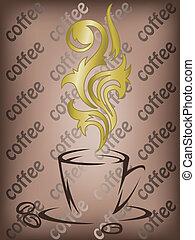 dorato, caffè, aroma