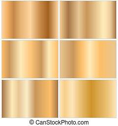 dorato, gradients, collezione