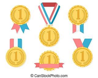 dorato, medaglie