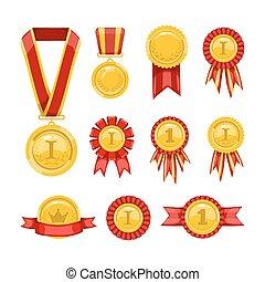 dorato, medals.