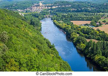 Dordogne river at Castelnaud