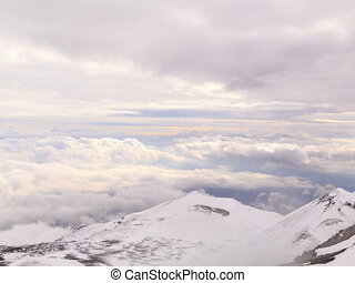 Dormant crater of Etna. Sicily, Italy. Time Lapse. 4x3 - One...