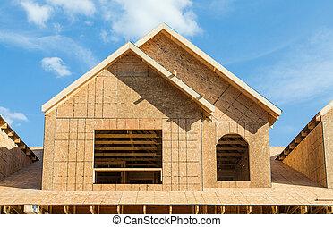 Dormer Construction on New House