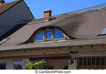 Dormers in the shape of Napoleon's hat