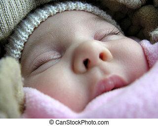 dormir, bebê
