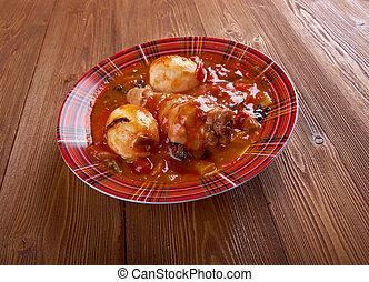 Doro Wat - Ethiopian red chicken stew wat is one such stew,...