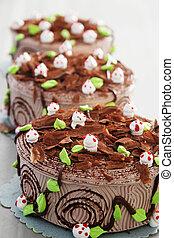 dort, narozeniny, čokoláda